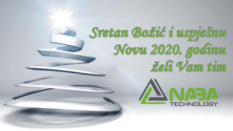 Sretan Božić i uspješna Nova 2020. godina